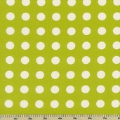 Oh Deer! Polka Dot Cotton Fabric - Leaf 16073-21