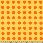 Oh Deer! Polka Dot Cotton Fabric - Sunshine 16073-33