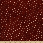 Old Glory Gatherings Cotton Fabric - Dark Red 1074-21
