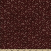 Old Glory Gatherings Cotton Fabric - Dark Red 1076-19