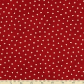 Old Glory Gatherings Stars Cotton Fabric - Red 1074-20