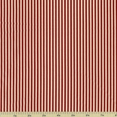Old Glory Gatherings Stripe Cotton Fabric - Red 1073-14