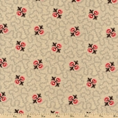 Old Savannah Cotton Fabric - Natural R22-4175-0144 - Clearance