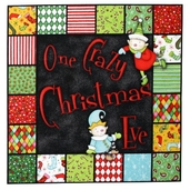 One Crazy Christmas Eve - Book Panel