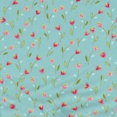Ooh-La-La Cotton Fabric - Aqua