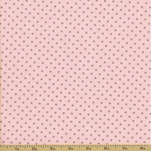 Ooh La La Cotton Fabric - Dimples and Dots - Pink
