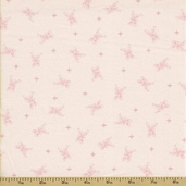 Ooh La La Cotton Fabric - Silver Spoons - Pink