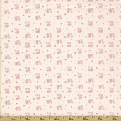 Ooh La La Cotton Fabric - Tiny Scroll - Cream