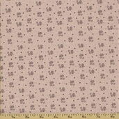 Ooh La La Cotton Fabric - Tiny Scroll - Grey