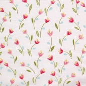 Ooh-La-La Cotton Fabric - White