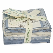Ooh La La Fabric Fat Quarter Bundle - Blue