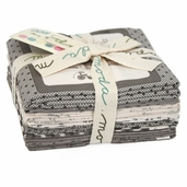 Ooh La La Fabric Fat Quarter Bundle - Grey