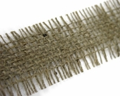 Open Weave Natural Jute Ribbon 1.5 in. 10yds spool