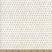 Ophelia Dot Cotton Fabric - Vanilla