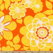 Orange Crush Cotton Fabric - Citrus CRUSH-8965-CITRUS