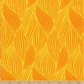 Orange Crush Cotton Fabric - Yellow Citrus