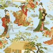 Oriental Traditions 8 Cotton Fabric - Antique