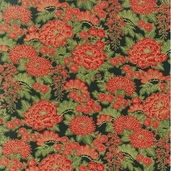 Oriental Traditions 8 Cotton Fabric - Crimson - Clearance