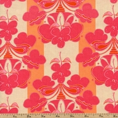 Out Front Prints Floral Cotton Fabric - Pink O-FRONT-5008