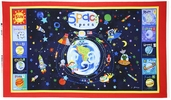 Out of This World Panel Cotton Fabric - Multi OUTW-00181-MU