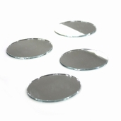 Oval Craft Mirror 4 Pkg - 2 in x 1.5