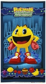 Pac-Man Cotton Fabric Panel