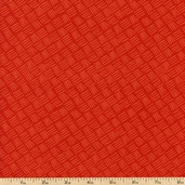 Pacific Tradewinds Dashes Cotton Fabric - Red