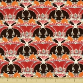 Pagoda Lullaby Pagoda Hill Cotton Fabric - Grenadine
