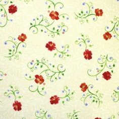 Paintbrush Gardens - Cream - Clearance