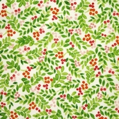 Paintbrush Gardens Fabrics - Cream
