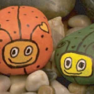Painted Rock Critter