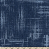 Painter's Canvas Cotton Fabric - Indigo