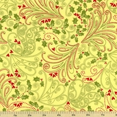 Paisley Wings Holiday Cotton Fabric