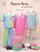 Pajama Party Pattern Book by Cindy Taylor Oates
