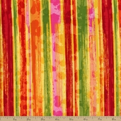 Pandora Painted Stripe Cotton Fabric