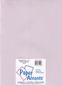 Paper Accents - 25 Sheet Vellum Bundle - Medium White