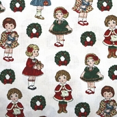 Paper Doll Christmas - Dolls Cream