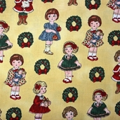 Paper Doll Christmas - Dolls Tan