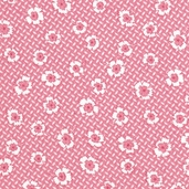 Paper Doll Cotton Fabric - Camellia