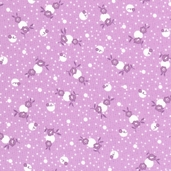 Paper Doll Cotton Fabric - Petunia