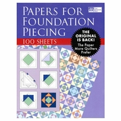 Paper for Foundation Piecing 8.5in. x 11in. 100 Sheets