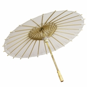 Paper Parasol 28 in. - Off-White