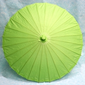 Paper Parasol 32in. - Grass Green