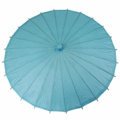 Paper Parasol 32in. - Water Blue