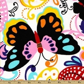 Papilion Cotton Fabric - Papillion Multi