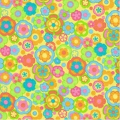Parfait Cotton Flannel Fabric - Banana Yellow