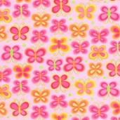 Parfait Cotton Flannel Fabric - Bubblegum Pink