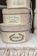 Parisian Hat Boxes