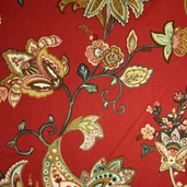 Parisian Paisley - Red