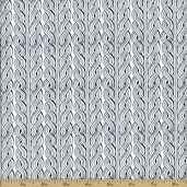 Parson Gray World Tour Wales Cotton Fabric - Salt